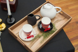 tea on tray